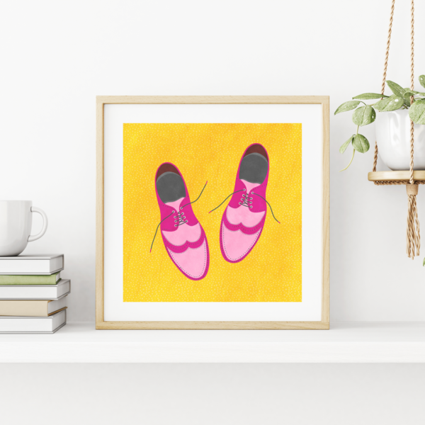 going places print