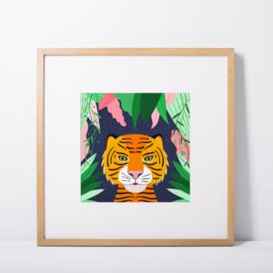 tiger-art-print