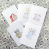 set of 5 cards