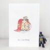 superhero card