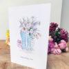 welly birthday card for mum