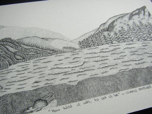 irish landscape print