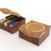 personalised wooden tea bag box