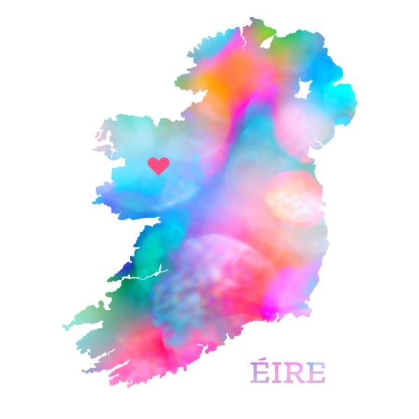 print of ireland