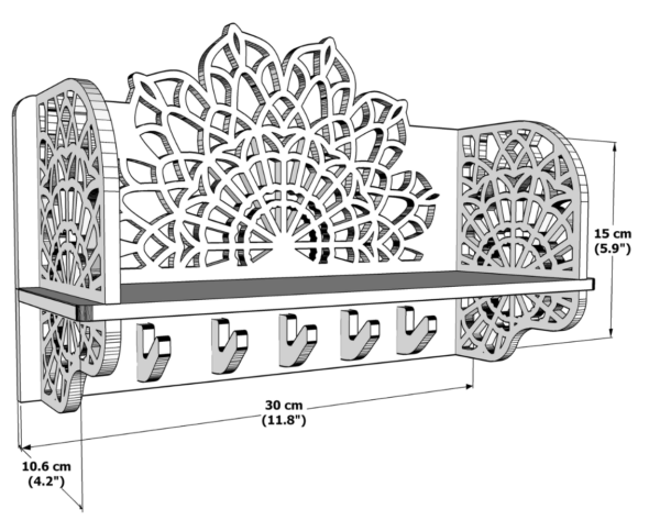 wooden key holders